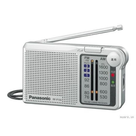 Radio AM\FM RF-P150BAT PANASONIC