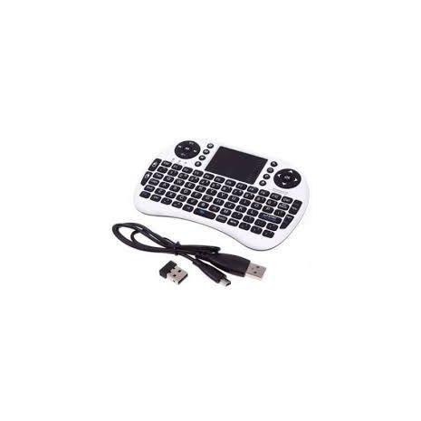Беспроводная мини-клавиатура со встроенной мышью . Заряжающаяся батарея. Иврит - английский