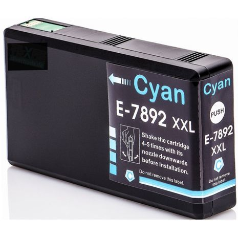 Epson E-7892 XXL ראש דיו תואם כחול