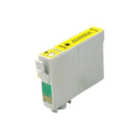 Совместимый струйный картридж Epson T1294 (желтый)