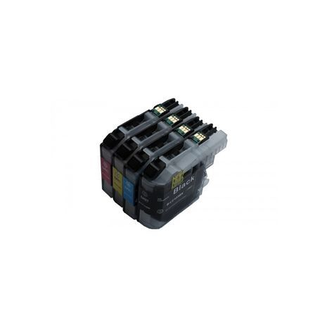 Brother LC223 Compatible Black & Colour Ink Cartridge 4 Pack