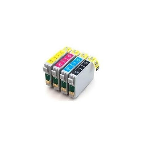 Set compatible inkjet cartridges Epson T1281/82/83/84