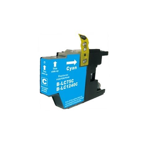 Brother LC79/400/450/1220/1240/1280C Cyan Compatible inkjet cartridge
