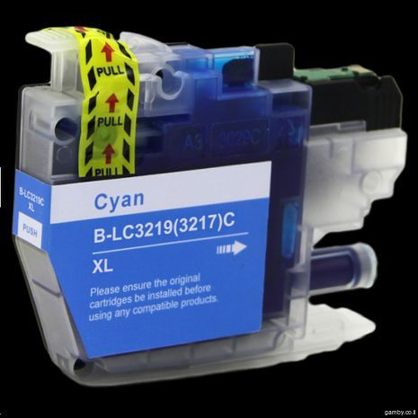 B-LC 3219 / 3217 C  XL Brother Cyan compatible inkjet cartridge