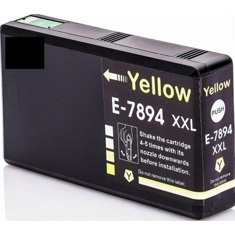 Epson E-7894 XXL ראש דיו תואם צהוב