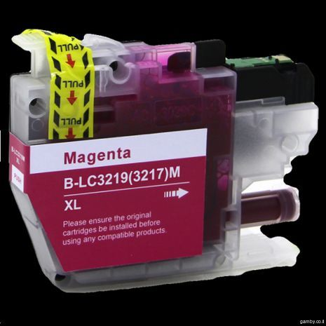 B-LC 3219 / 3217 M XL Brother Compatible Inkjet Cartridge Magenta