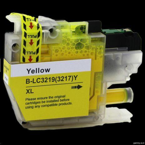 Совместимый струйный картридж Brother LC79/400/450/1220/1240/1280Y (Желтый)