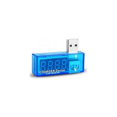 מודד הספק חשמל ביציאות USB DOQO