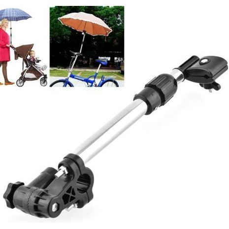Holder for baby umbrella and bicycle