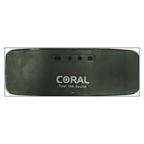 בידורית רמקול נייד סטריו Bluetooth ,  נטען משולב נגן MP3/USB/SD/MP4/PC וטלפונים ניידים CORAL PARTY  CX-10