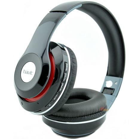אוזניות אלחוטיות גדולת עם מיקרופון כרטיס SD , רדיו Bluetooth stereo HI-Fi SD HAVIT HV-H2561BT