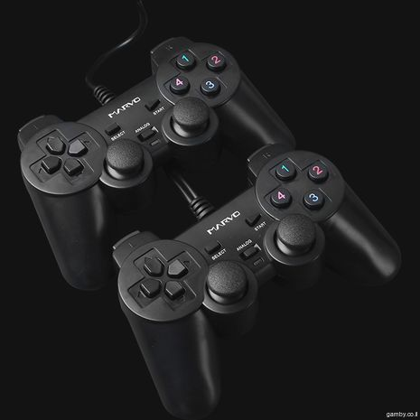 VIBRATION DOUBLE GAMEPAD FOR PC USB2 GT-007 MARVO