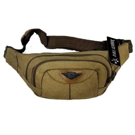 Belt bag of canvas