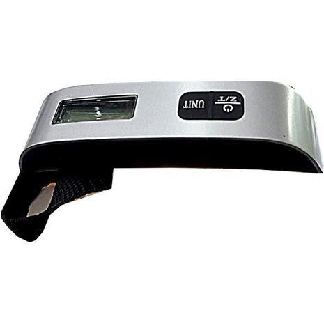 Hand scales (steelyard), digital. Convenient for travel. To 40 kg.