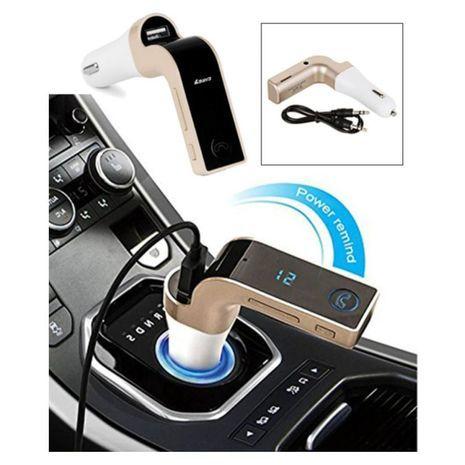 In Car bluetooth FM Modulator- Wireless FM Transmitter
