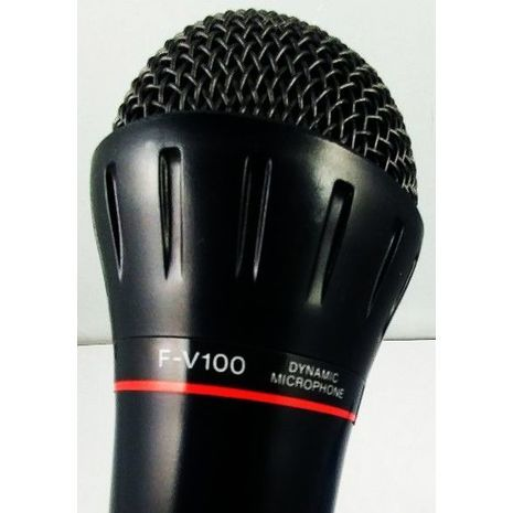 Микрофон для компьютера и караоке Sony F-V100 . Всенаправленный , динамический , вокальный .