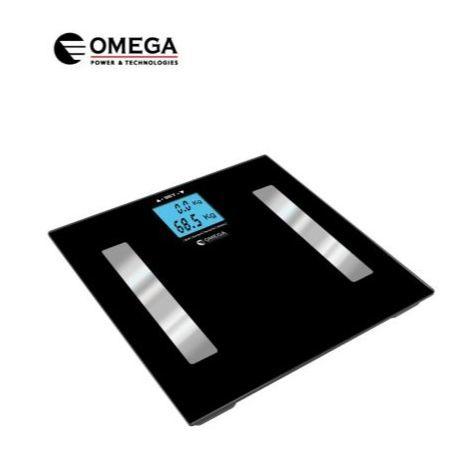 משקל אדם עם מד אחוזי שומן,שרירים ועצמות OMEGA OMEGA OM-727-BMI