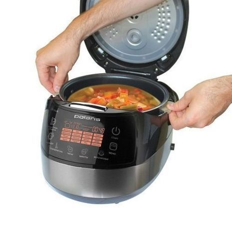 Smart digital electric cooker with pressure for 5 liters (Multi-Cooker) POLARIS PMC 0517AD