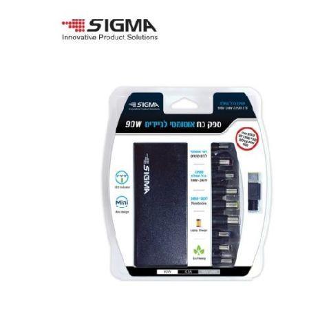 Универсальный блок питания для компьютера - зарядное устройство для компьютера . Автоматическое . Подходит для большинства видов . SIGMA 90W