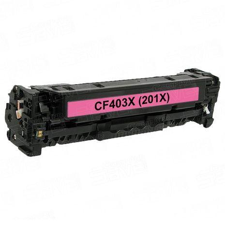 HP CF403X - 201X M טונר לייזר  תואם (אדום )