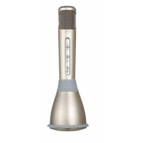 מיקרופון - קריוקי. Bluetooth, רמקול מובנה , TSK02 סוללה פנימית נטענת Sakal
