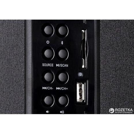 רמקולים למחשב ומערכת רמקול שולחני עם איכות צליל מעולה F&D F550 X 2.1
