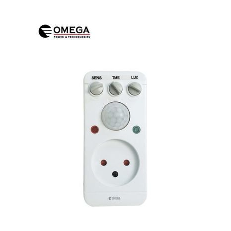 The movement detector in the socket Omega OM-PIR-16A