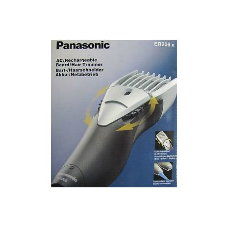 מכונת תיספורת טיטניום , נתנת  Panasonic ER 206 k
