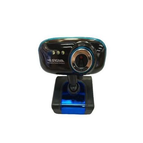 Webcam PC with Clip HD Microphone + Night Lighting 3 LEDs No DRIVER USB-2 . 8 Mp SIGMA