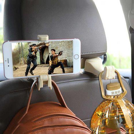 Car holder mobile phone for car headrest