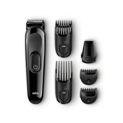 Trimming Kit Face & Heand for the beard and mustache  6 в 1 Braun MGK3025