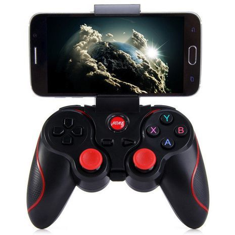 Wireless joystick for Android, IOS and Windows. Suitable for smartphones, tablets, smart TV, TV-BOX. Model: X3