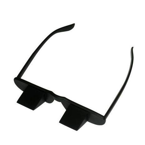 """""""משקפיים לעצלנים"""" משקפיים פריזמטיות לקריאה נוחה וצפייה בטלוויזיה"""
