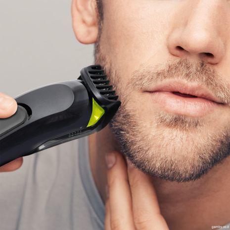6 ב1 מחשיר טיפוח שער  גופ  , זקן , ושפם - טרימר Braun MGK3021