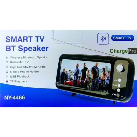 Smart TV BT Speaker Bluetooth - speaker and phone holder with a control panel for all types of smartphones