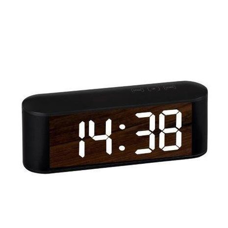 Digital Alarm Clock Compact with AC and USB Mirror Display NY-8974