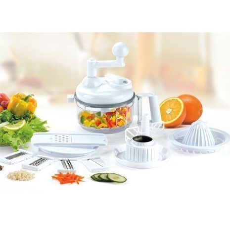 Vegetable Cutter - Rotary Chopper (Manual) Super Mixer