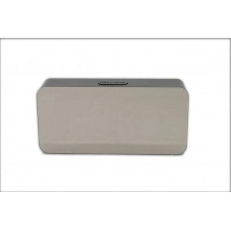 Дигитальные часы-будильник, компактные с питанием от сети и USB , зеркальный дисплей NY-8972