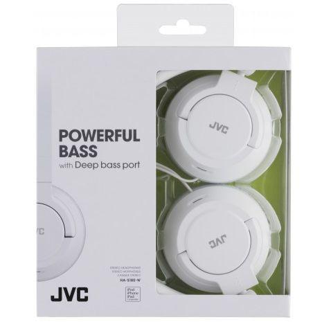 Stereo Earphone  for use TV, MAC, MP3/4, iPOD,PC  JVC HA-S180-W