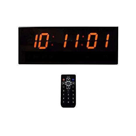 Large digital electric timer with remote control JH808 . Size: 32X9