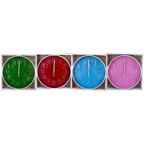 Round wall clock. Diameter 19.5 sm.