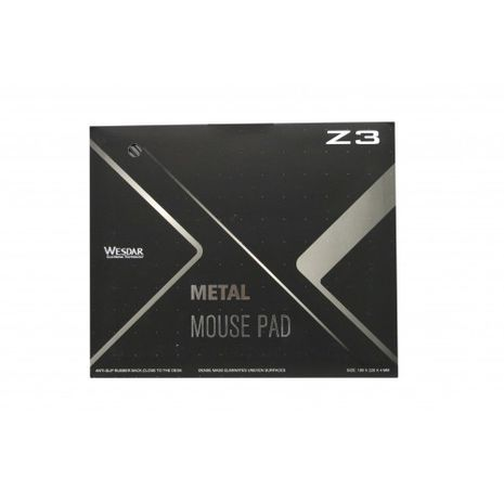 Professional aluminum mouse pad WESDAR Z3