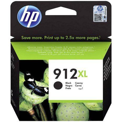 HP 912 Bk XL Genuine Black Inkjet Cartridge