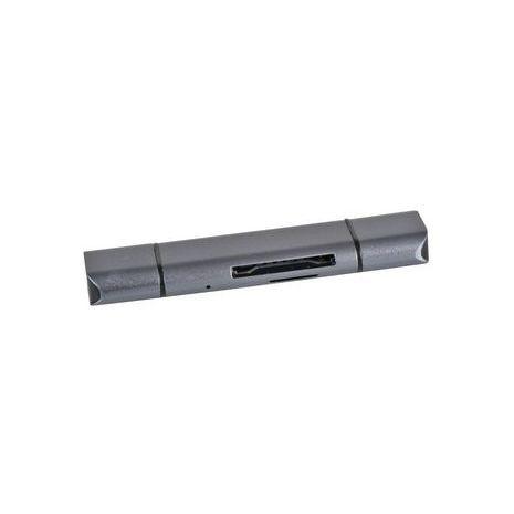 3-in-1 USB 3.0 SD/MicroSD Card Reader -  C-TC-CR Dynamode