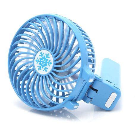 Powerful mini manual and desktop folding fan
