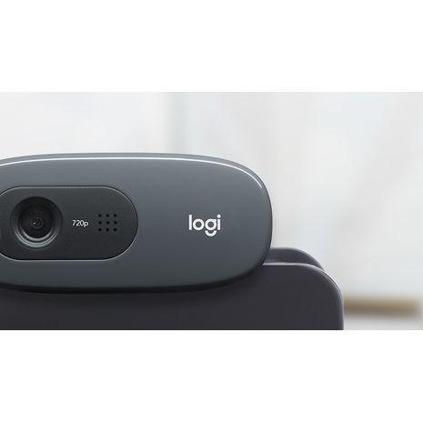 מצלמת אינטרנט עם מיקרופון ,קליפס , Logitech C270 HD USB2