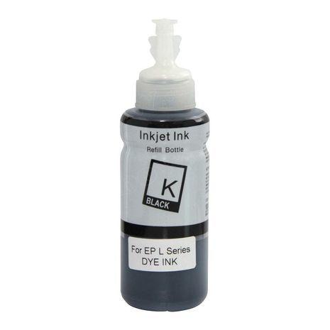 Compatible T66641 Black Ink Bottle for Epson Printer
