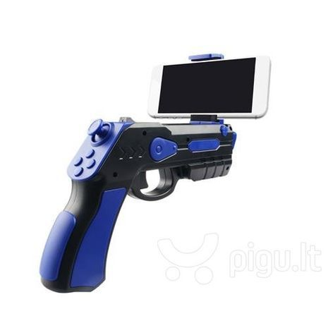 A pistol for phone games on iOS and Android. Blaster AR Gun Game