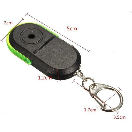 Keychain - anti-loss alarm, sound search for keys and other items.