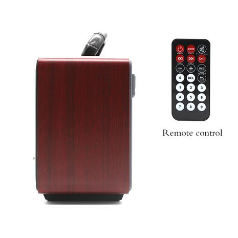 Transistor receiver with USB-input, memory card, MP3, Bluetooth. Powered by electricity, internal batteries and conventional batteries . Remote Control MEIER M-113BT